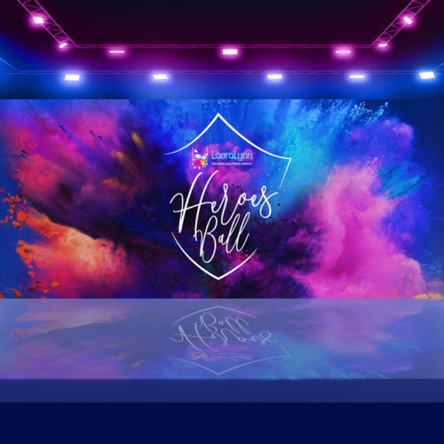 LauraLynn Heroes Ball Event Identity Design