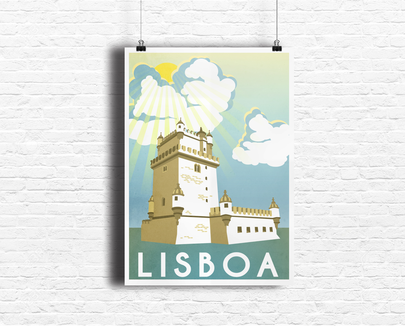 Portugal Travel Poster Design